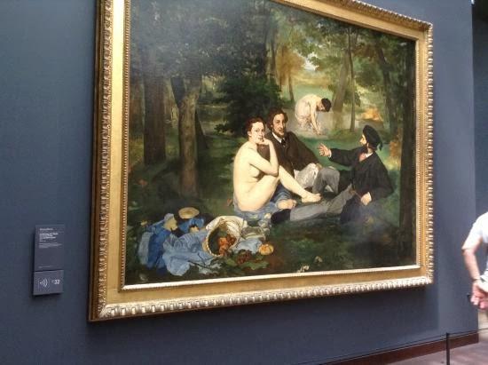 El almuerzo en la hierba, Manet