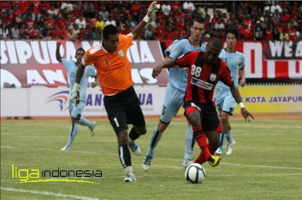 Hasil Persela Vs Persipura Skor 1-0 ISL 1 September 2013