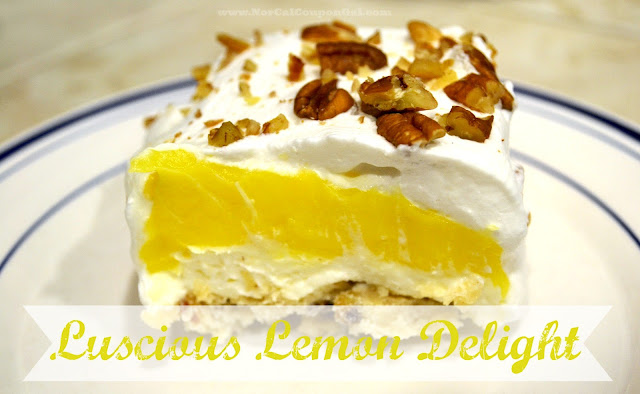 In The Kitchen With Mom Mondays – Luscious Lemon Delight