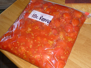 {I Think I Can}:  Freezing Tomatoes