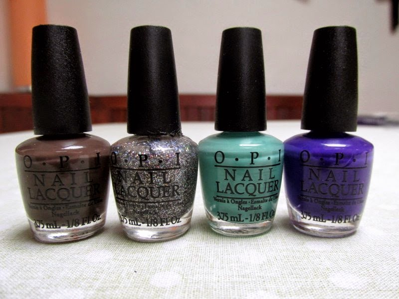 opi mini nail varnishes nordic collection