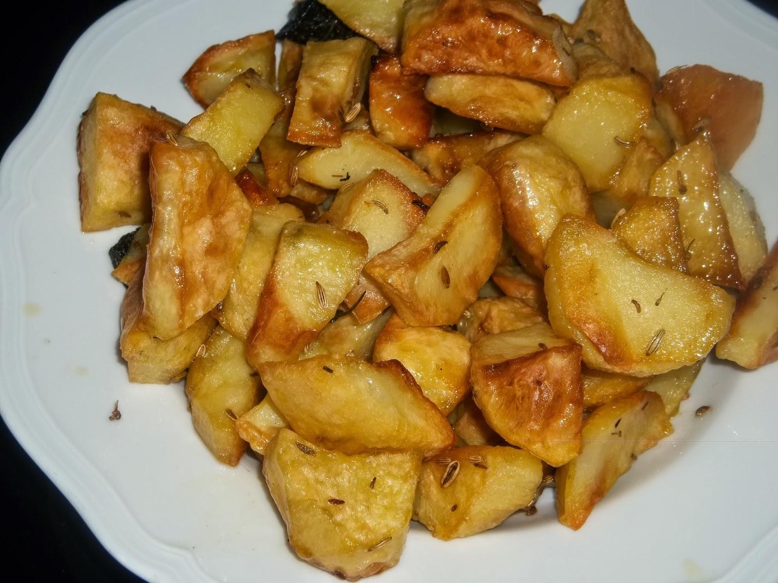... patate al forno saporite al finocchietto un gusto gradevole ...