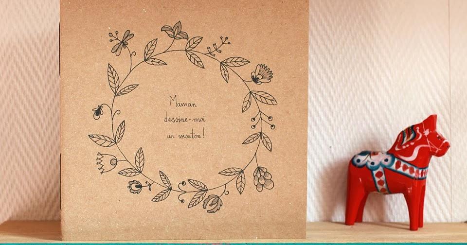 bidouill par lili du c t de l 39 atelier carnet maman dessine moi un mouton. Black Bedroom Furniture Sets. Home Design Ideas