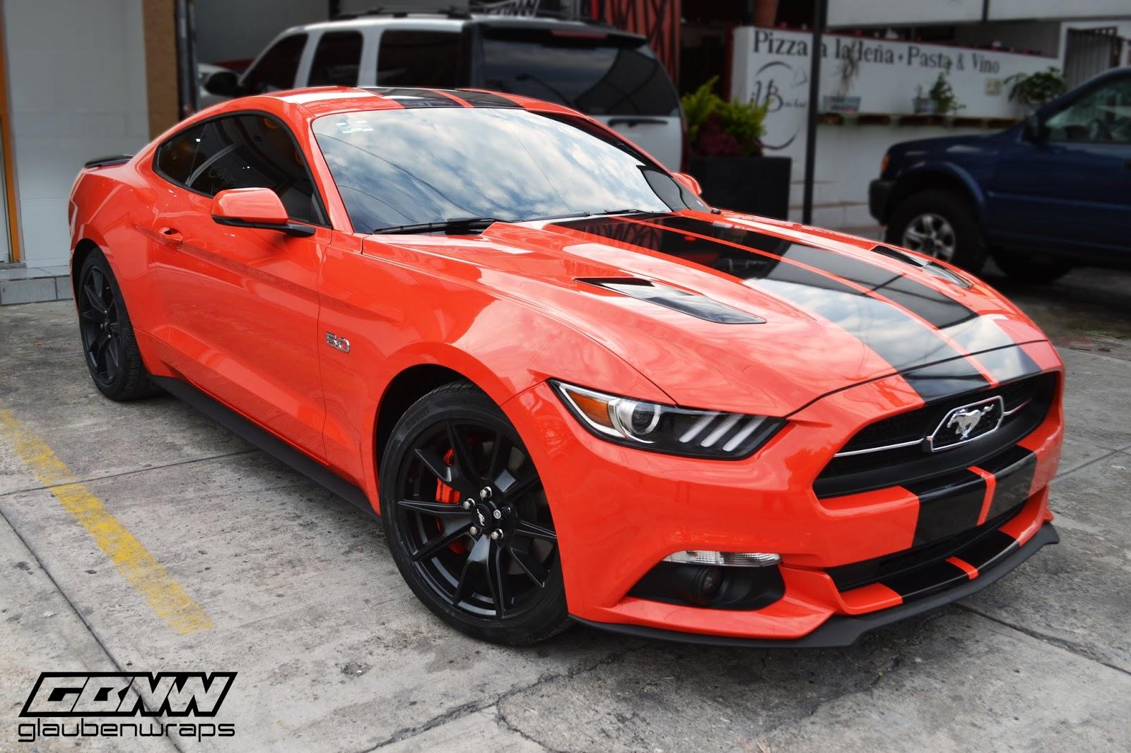 Glaubenwraps Ford Mustang 2016