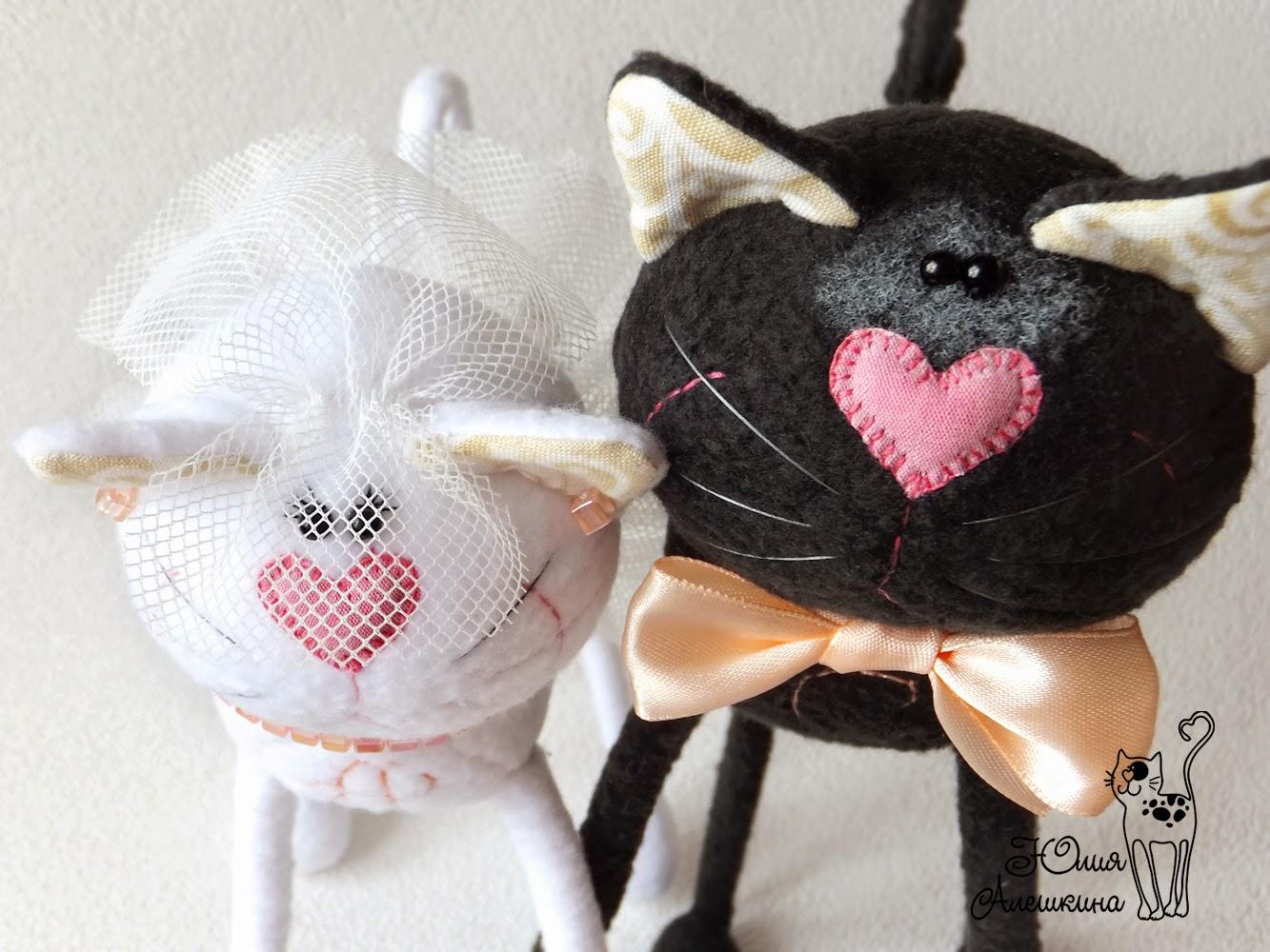 Коты в подарок на свадьбу