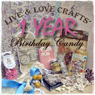 Live and Love Crafts Birthday Candy