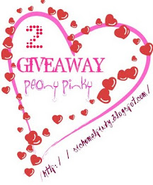 GIVEAWAY KEDUA PEONY PINKY