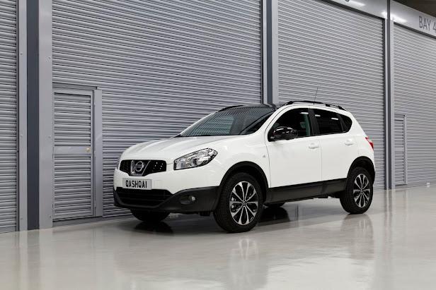 Nissan Qashqai SUV mas vendido en España en 2013