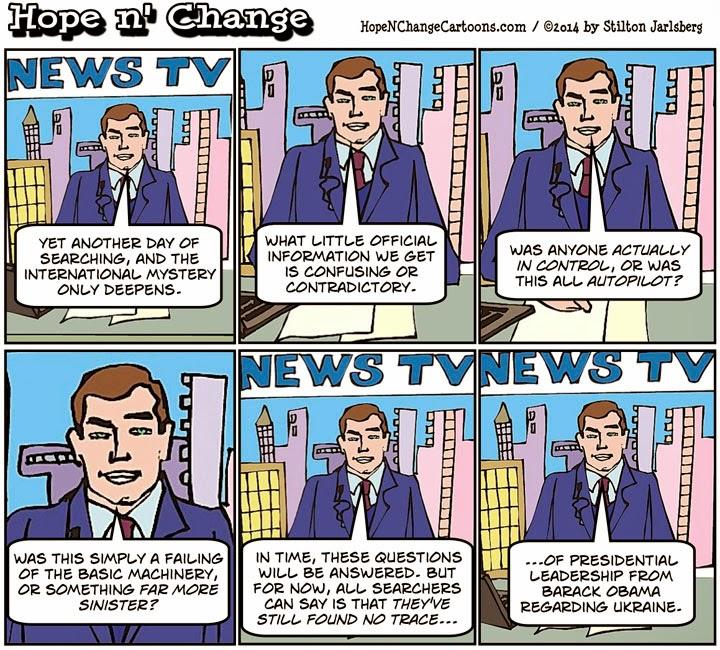 obama, obama jokes, cartoon, humor, funny, barack obama, malaysia, ukraine, russia, hope n' change, hope and change, stilton jarlsberg, conservative, tea party