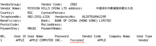 Apple+Supplier+Foxconn%E2%80%99s+Servers+Hacked,+Exposing+Vendor+Usernames+and+Passwords