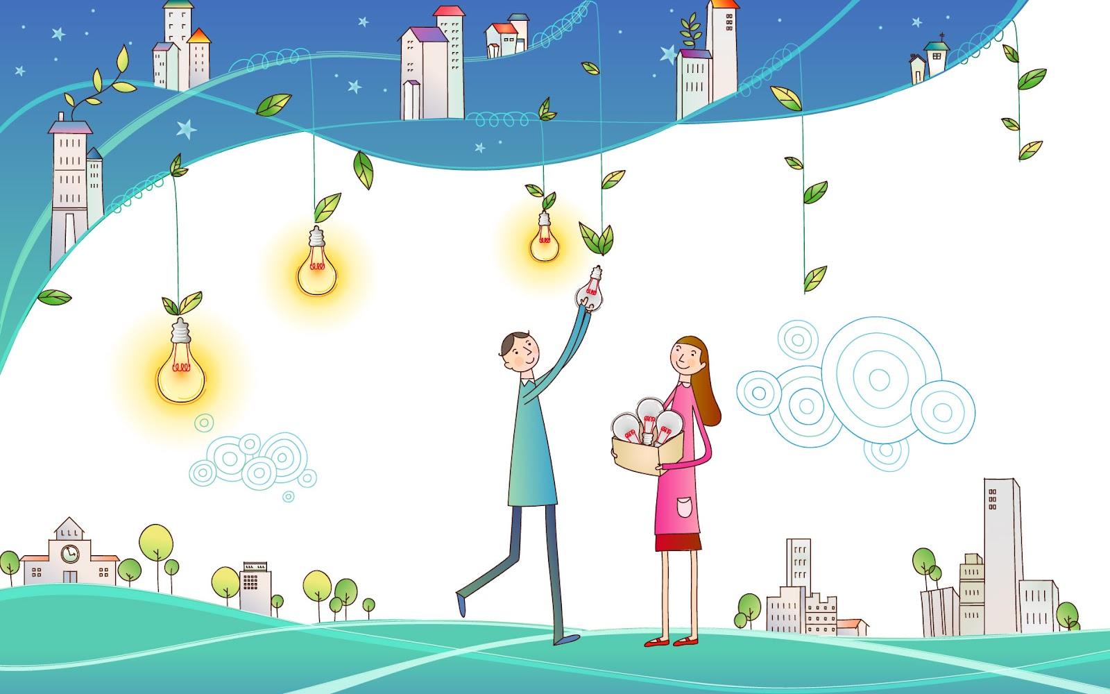 Fondos de Dibujos Animados de Amor | Imagenes de Corazones