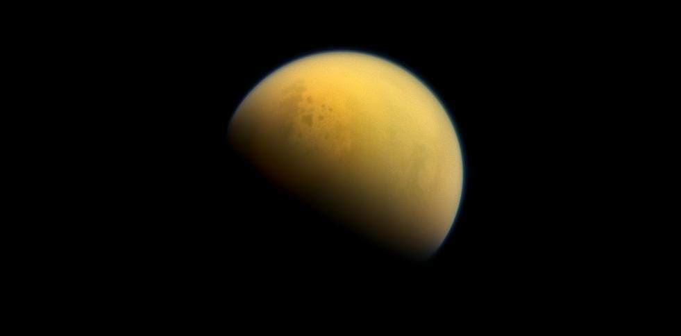 Saturn's moon Titan. Credit: NASA/JPL-Caltech/Space Science Institute