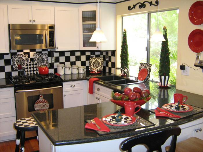 ... Decorations, Holiday Kitchen Decoration ideas, Christmas Decorations