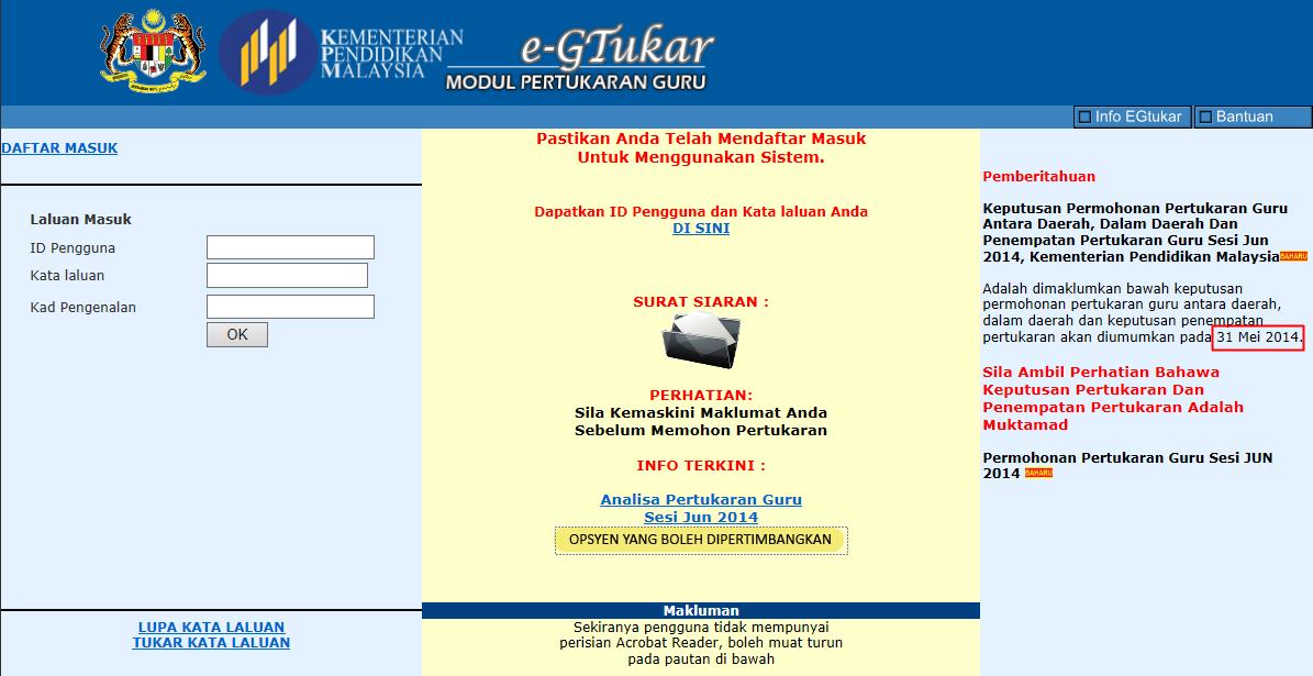 egtukar online portal rasmi egtukar guru permohonan