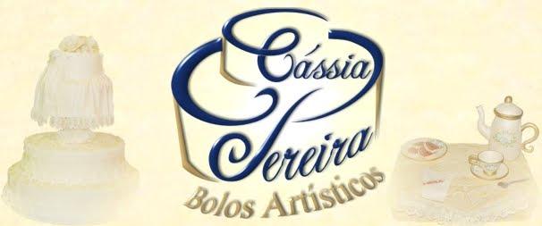 Cássia Pereira - Bolos Artísticos