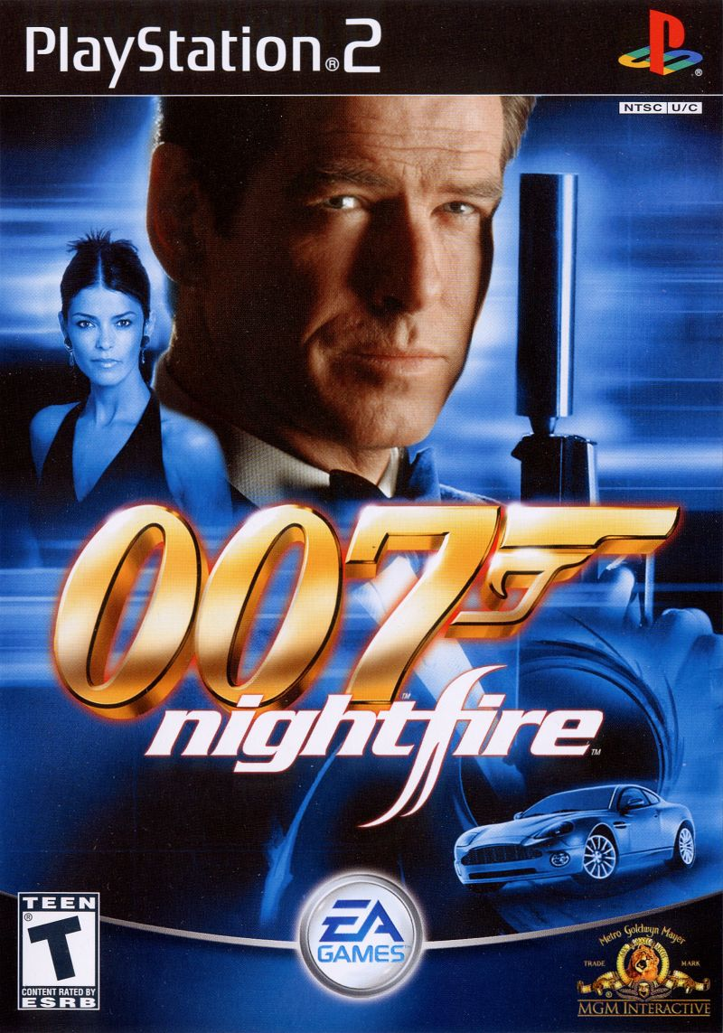 007 Nightfire PAL PS2