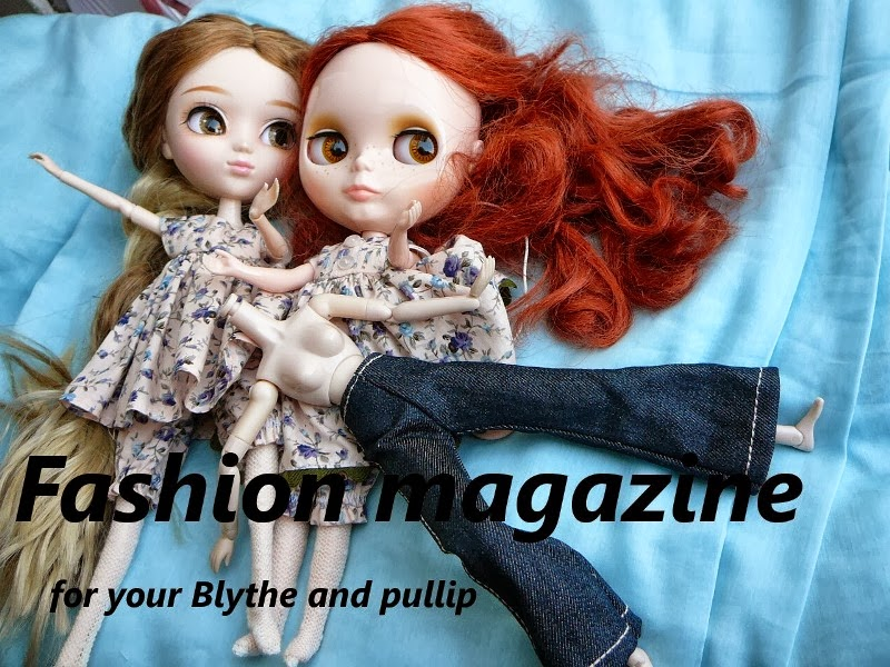 Fashion magazine for your Blythe and pullip