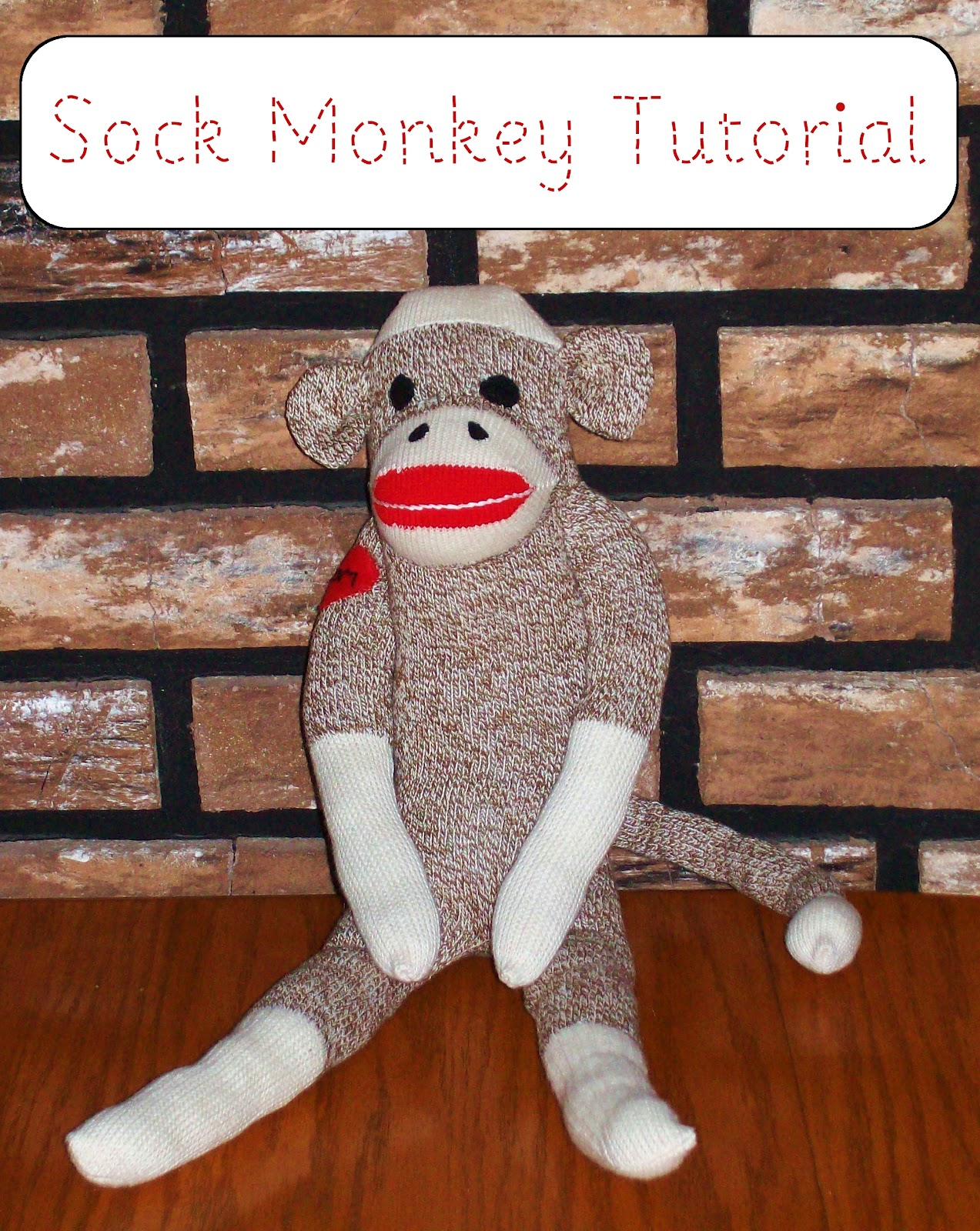 zip it zippers meg s classic sock monkey tutorial