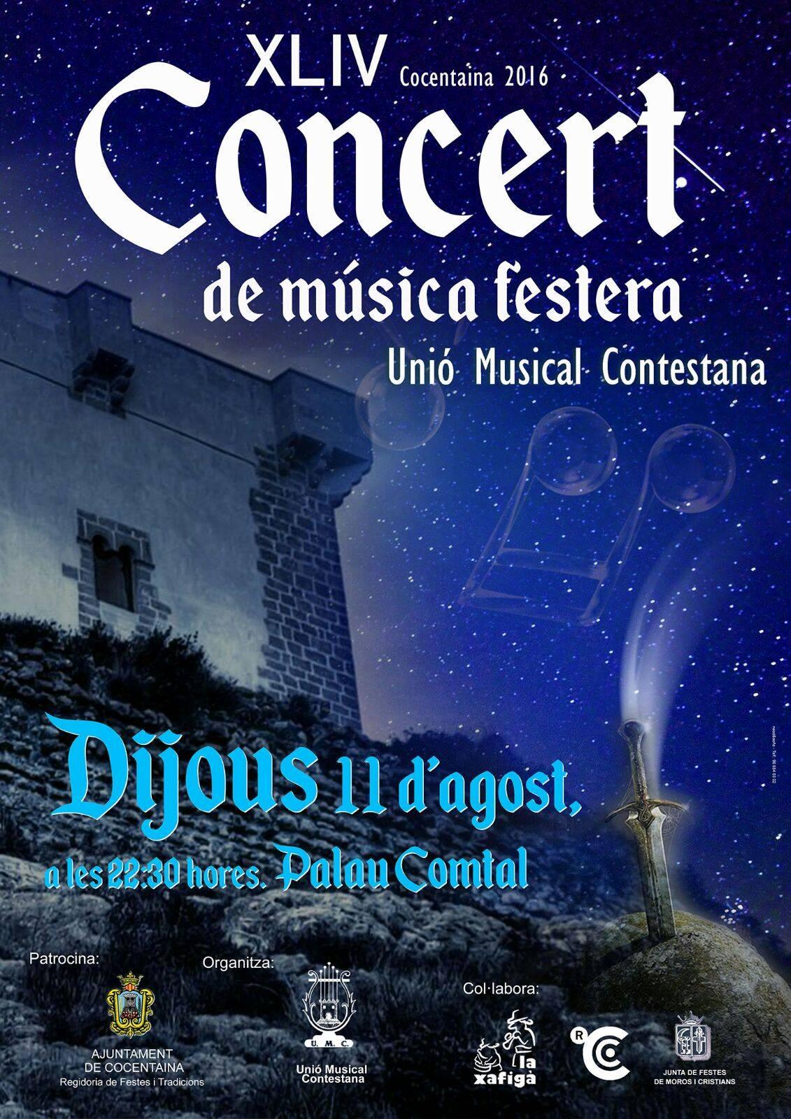 XLIV CONCERT de Música Festera, de la UNIÓ MUSICAL CONTESTANA