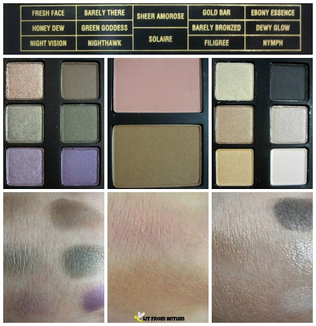 Jason Wu For Lancome Face Palette Swatches