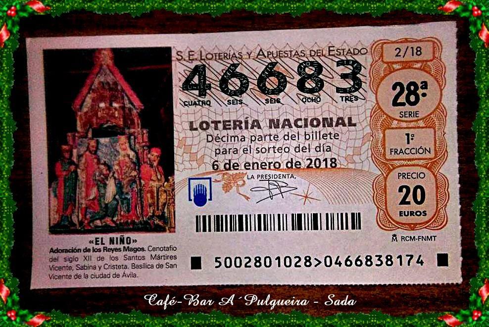 LOTERÍA DE REYES 2017