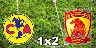América do México 1x2 Guangzhou Evergrande
