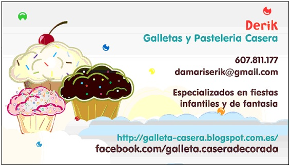 Galletas caseras decoradas
