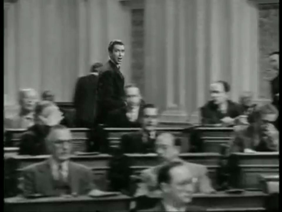 honesty versus falsehood in mr smith goes to washington by frank capra I n 1984, this en mity seemed to be forgotten when capra said in an in terview, the best writer of all, in my estimation, was the guy who got credit for mr smith goes to washington some of his words were just perfect.