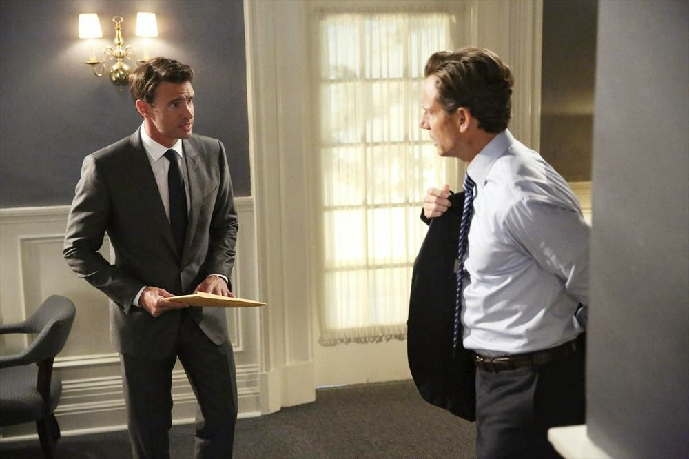Scandal Like Father, Like Daughter Jake y Fitz