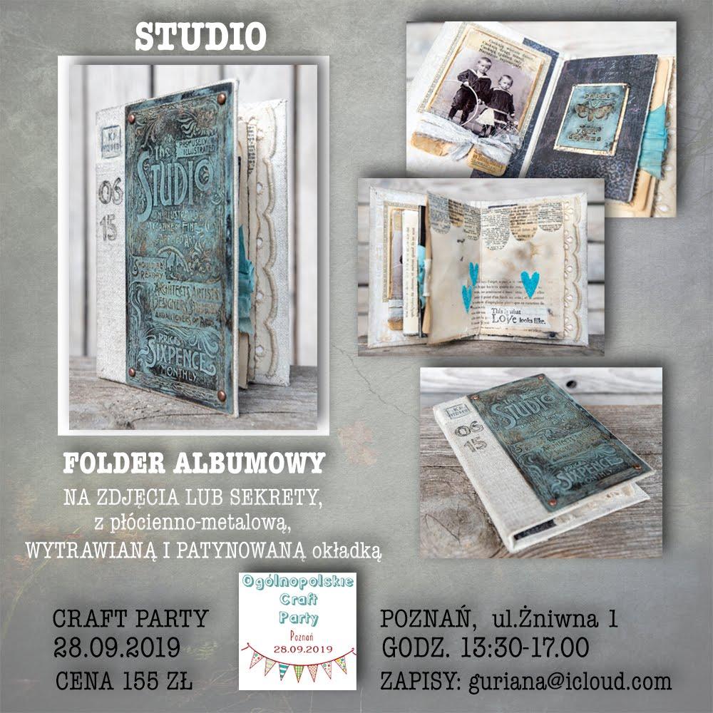 Folder albumowy STUDIO  -Craft Party Poznań