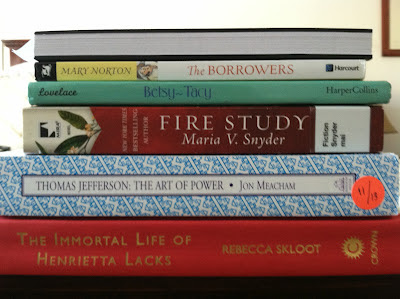The Books I'm Taking on Vacation