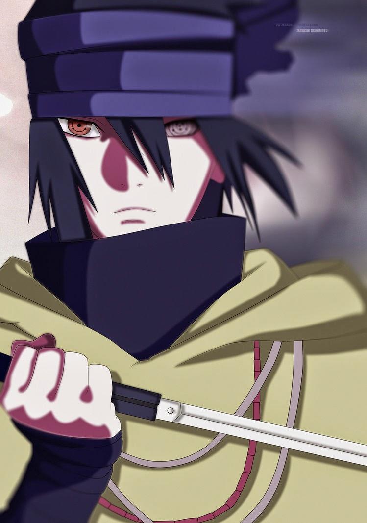 Boruto 17 Manga - Threat: Sasuke Uchiha