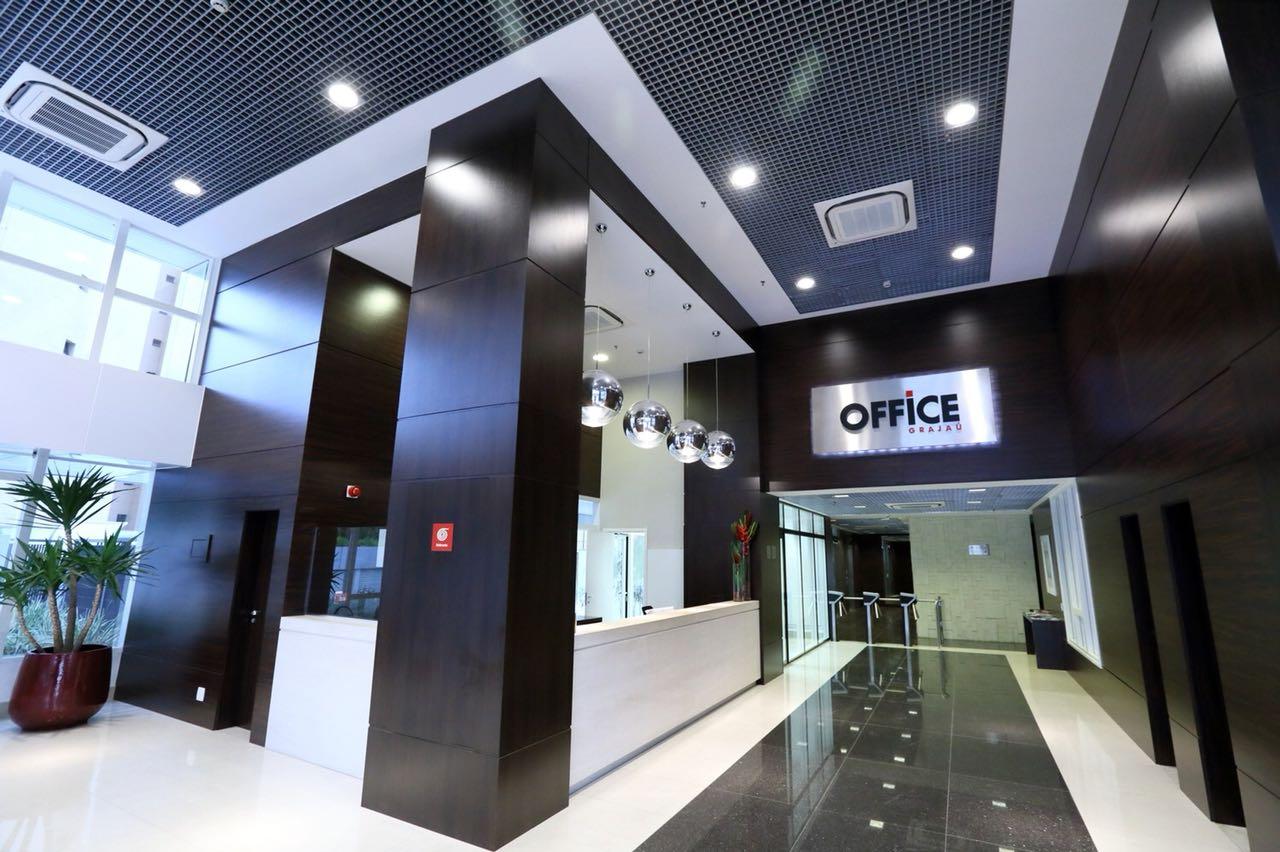 Recepção do prédio Office Grajaú