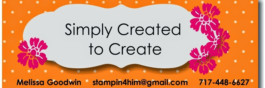 Simply Created to Create