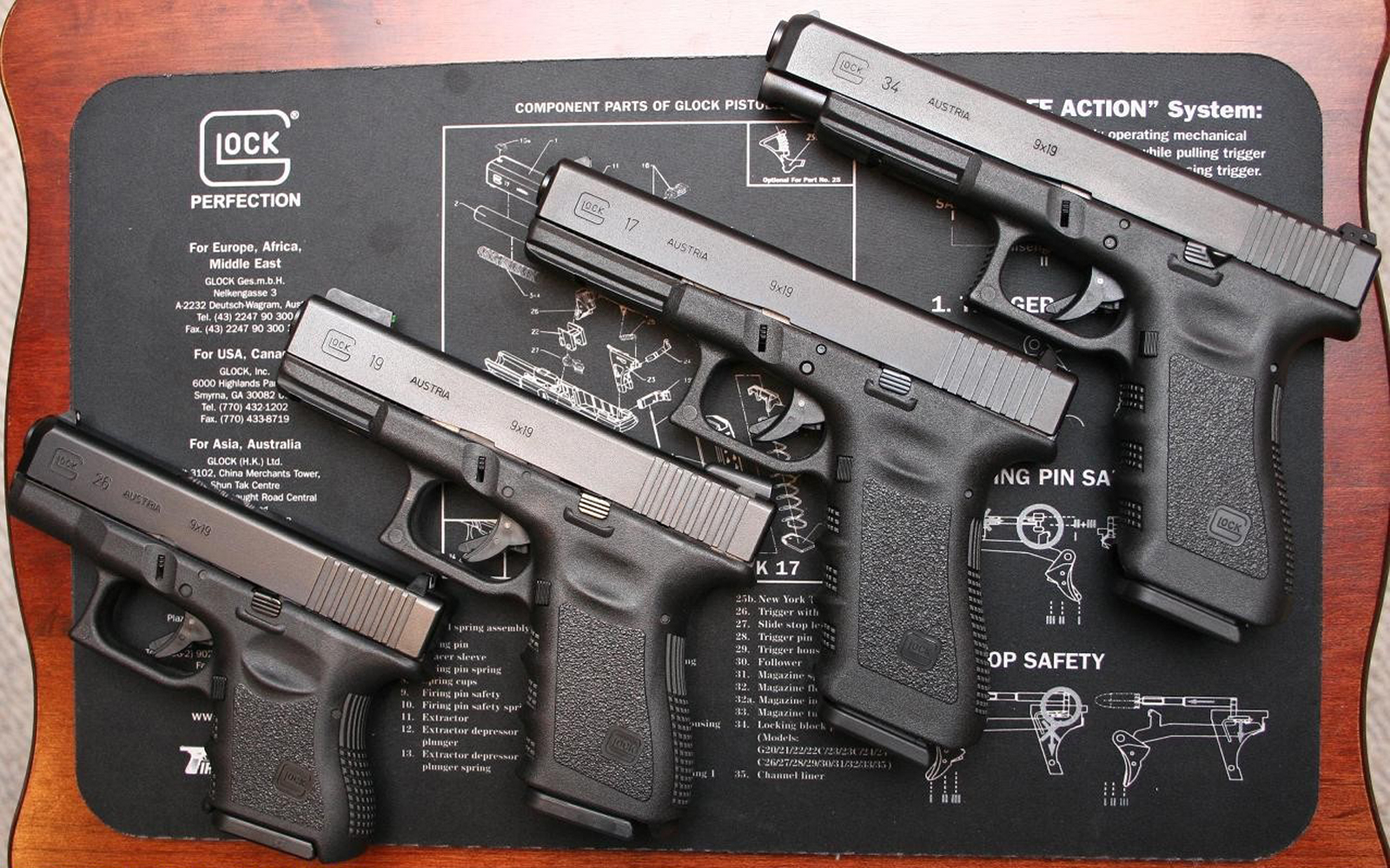 glock 19 hd gun wallpapers military wallbase