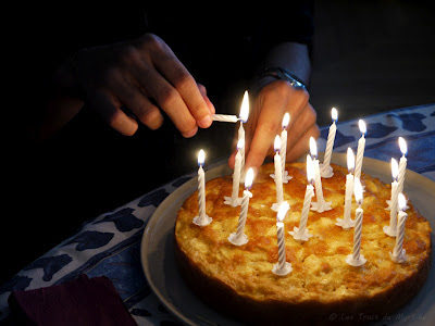 Le gâteau aux pommes de ma grand-mère (voir la recette)
