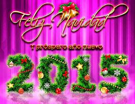 FELIZ NAVIDAD Y MEJOR 2015 PARA TODOS!!