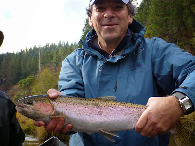 Klamath River steelhead fishing with Ironhead Guide Service
