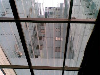 Telhado de policarbonato