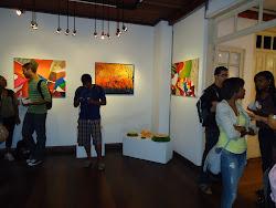 Exposição  de  Artes  Visuais.  Artistas -  Fátima  Soar  e  Marlene  Martins