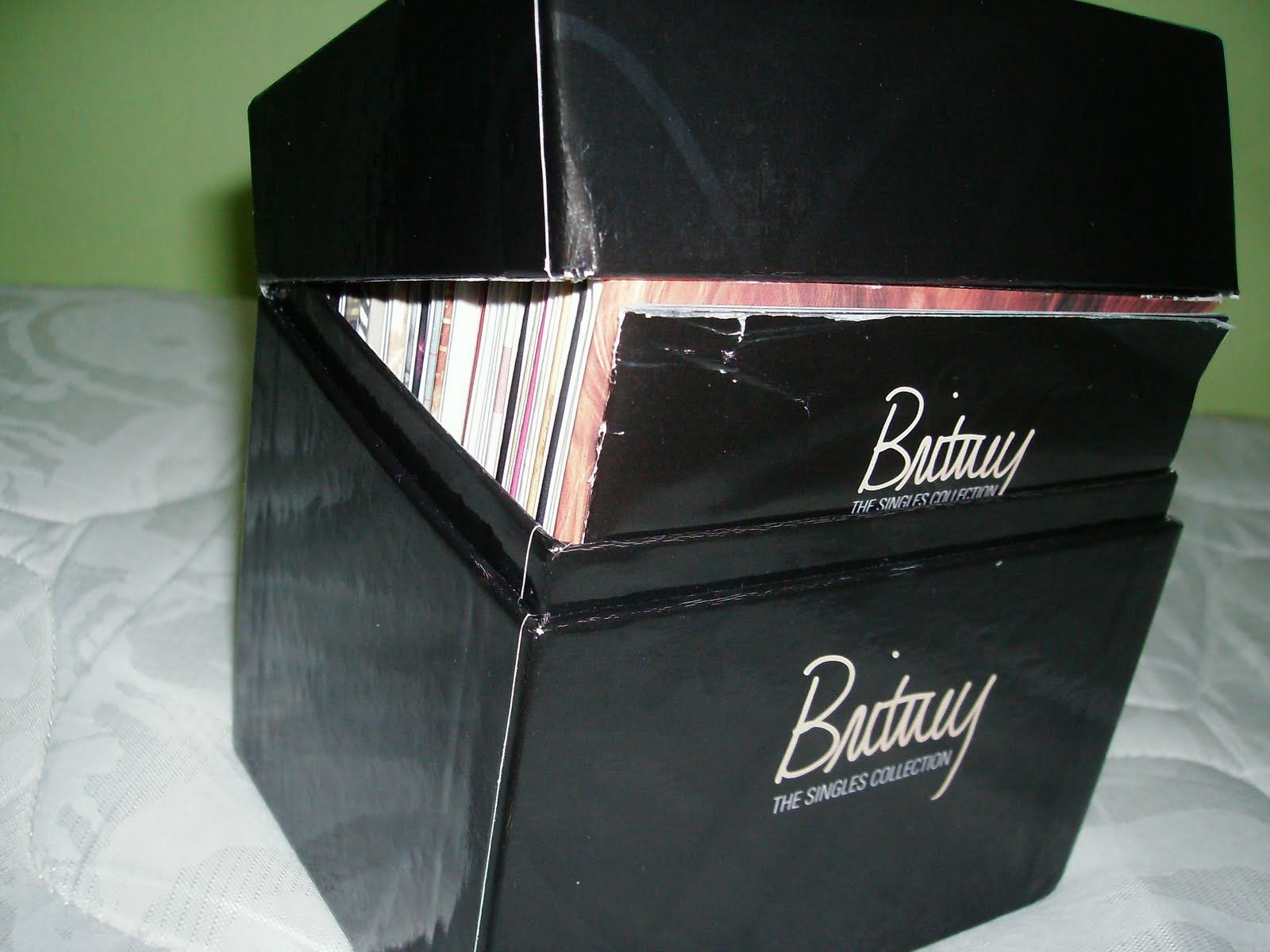 pop collection cds britney spears the singles