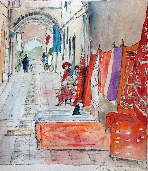 Carnet de voyage Médina d'Essaouira