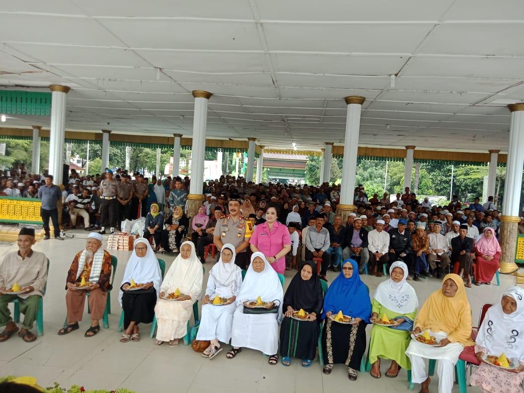 Acara Syukuran Sambutan Tahun Baru Islam 1 Muharram 1440 H Dihadiri Kapolda Sumut