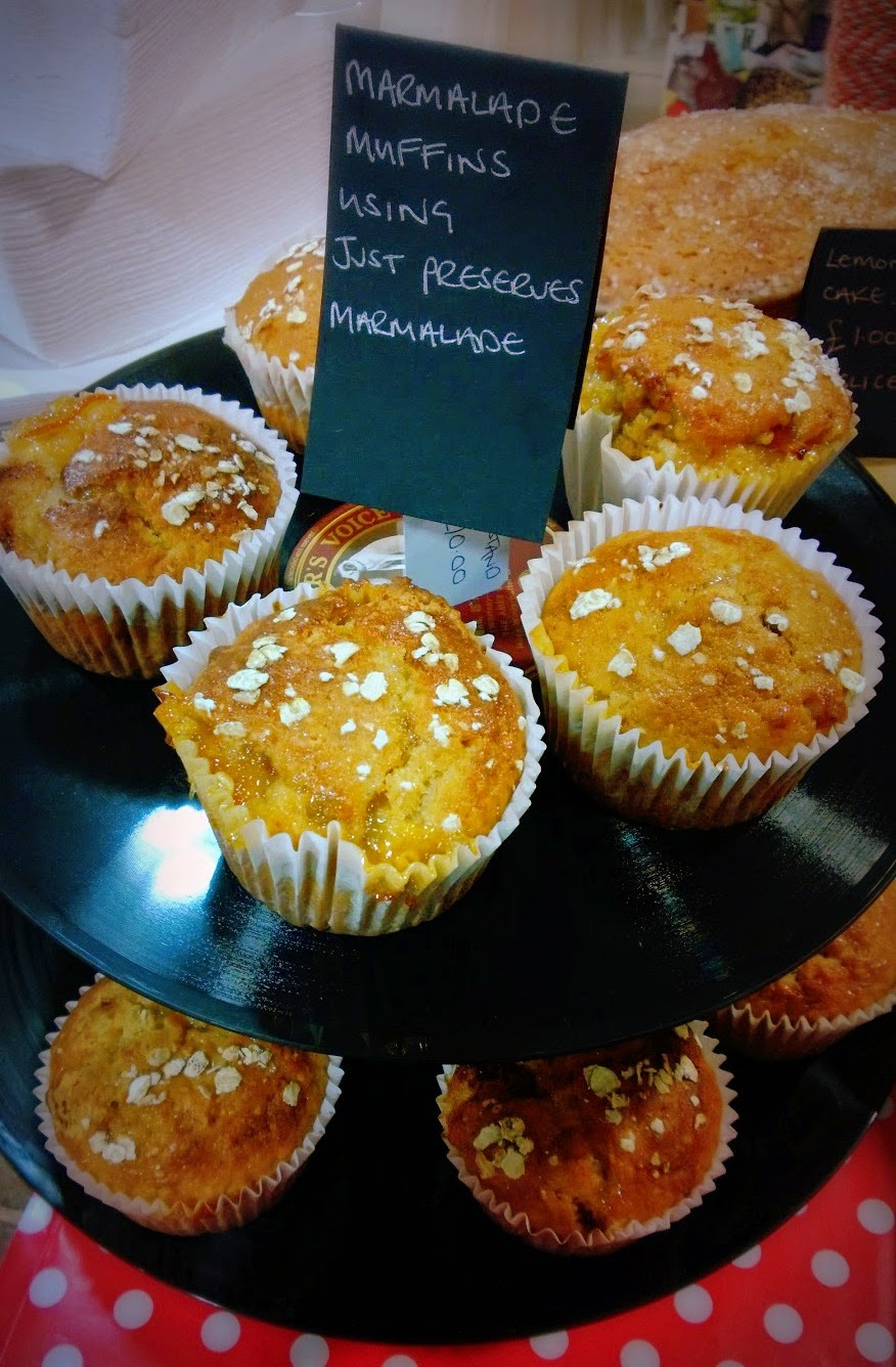 Just Preserves marmalade muffins recipe