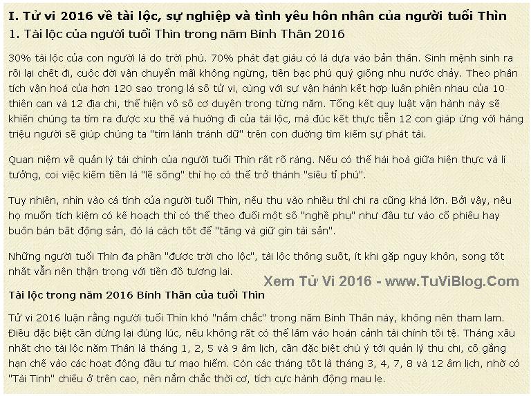 Van Menh Nguoi Tuoi Thin Nam 2016