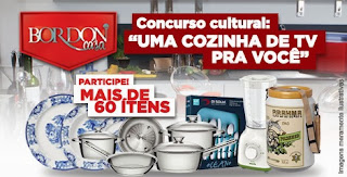 """Concurso Cultural """"Uma cozinha de TV pra você"""""""