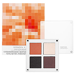 Eye Tutorial - Sephora+Pantone Universe Color of the Year Eyeshadow Quad