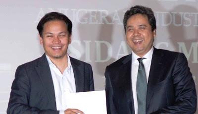 Gambar Norman Abdul Halim Selaku Pengerusi  Persatuan Industri Rakaman Malaysia
