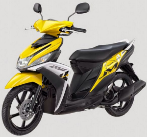Yamaha Mio M3 125 Blue Core Warna Trending Yellow
