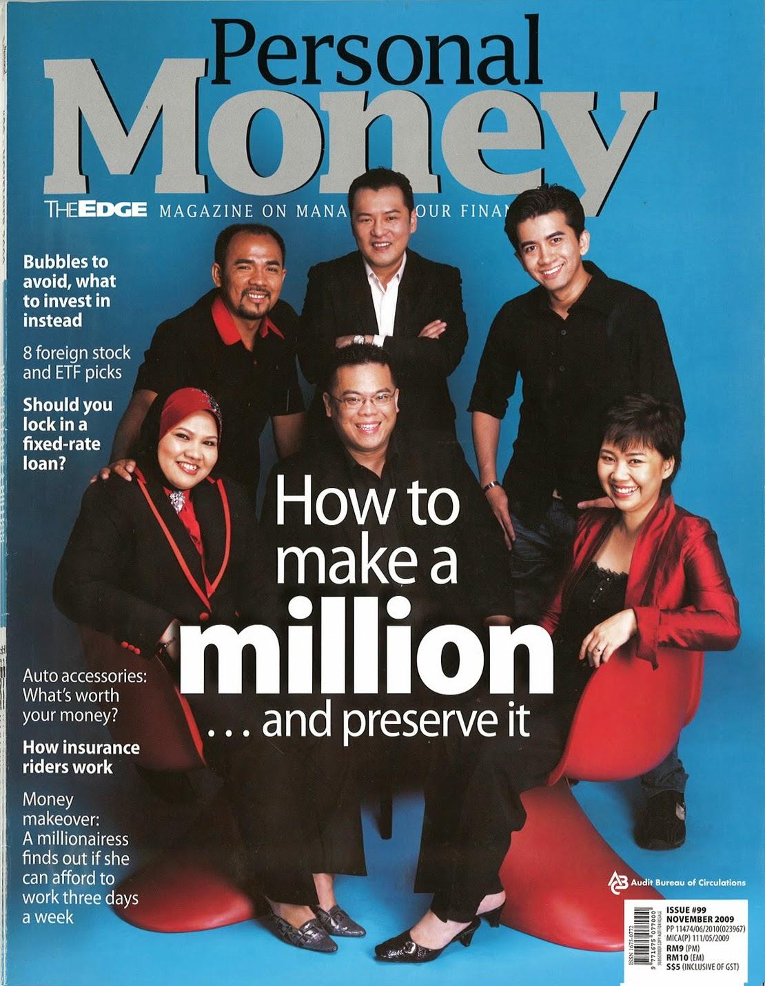 PERSONAL MONEY NOVEMBER 2009